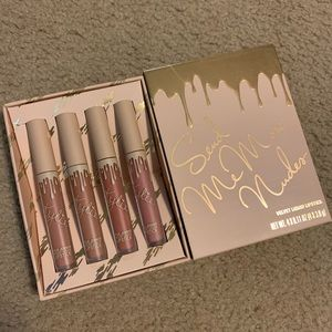Swatched Kylie Cosmetic velvet liquid lips